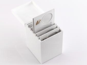 Akril rendszerező doboz palettával (jade kő tartóval)