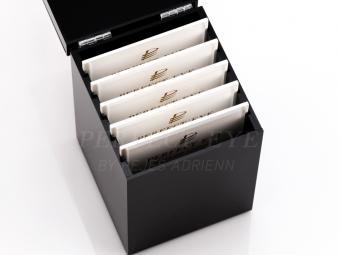 Akril rendszerező doboz palettával